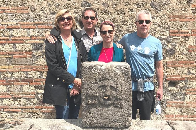 Semi - Private Skip the Line Tour of Pompeii with a Guide Expert in Archeology