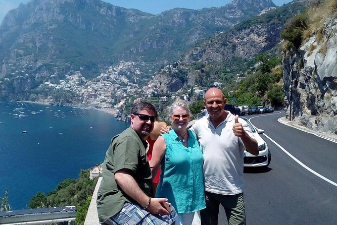 Semi Private Pompeii, Positano & Amalfi Coast Tour from Rome
