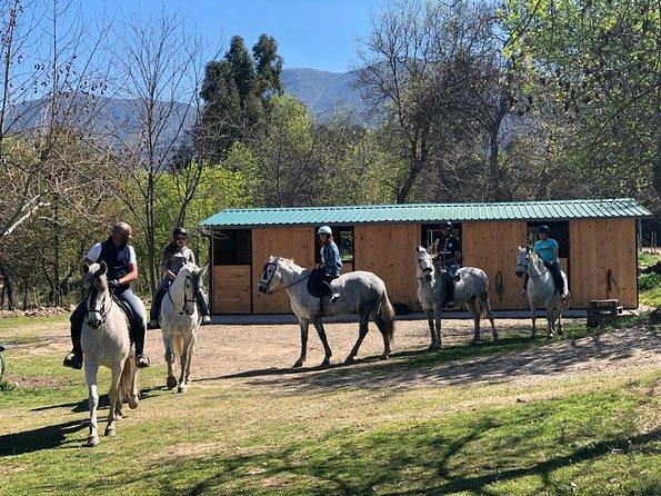 Horse Routes through the Ambroz Valley