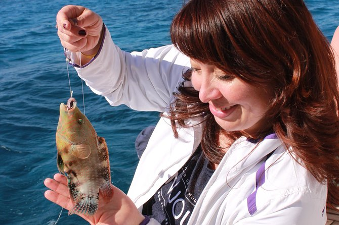 Professional Fishing Day Trip & snorkeling – Hurghada