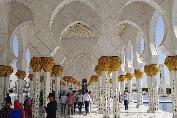 Private 10 hours tour : Dubai city and Abu Dhabi city highlights