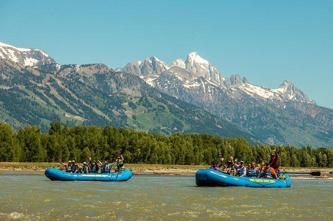 13-Mile Scenic Raft Trip on Jackson Hole's Snake River
