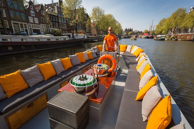 Amsterdam Private Canal Cruise with Drinks
