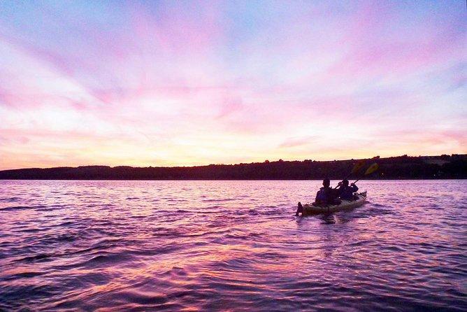 Sunset Sea-Kayaking Excursion on St. Lawrence River