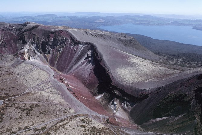 Mount Tarawera - Fault Line Direct Helicopter Flight