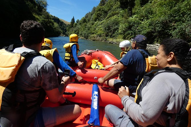 Shore Excursion: Scenic Rafting from Napier