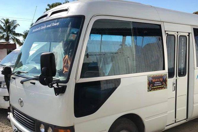 From Nadi Airport Fiji-Denarau Radisson,Wyndham,Sheraton,Westin,Hilton,Palm,Port