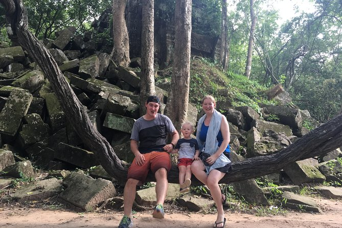 Koh Ker and Bengmelea Temples Tour With English Speaking Driver