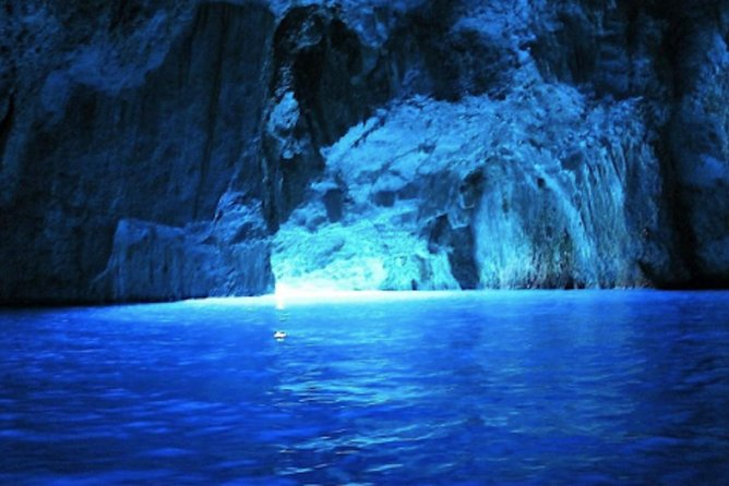 Mystic Blue Cave tour from Split