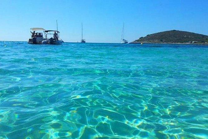 Kleingruppentour zur blauen Lagune von Split mit dem Schnellboot