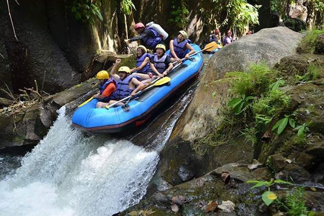 Melangit White Water Rafting and Tanah Lot Tour