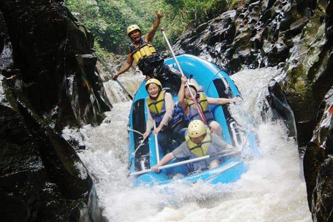 Melangit River Rafting and Waterfall, Holy Water Temple, Rice Terrace Tour