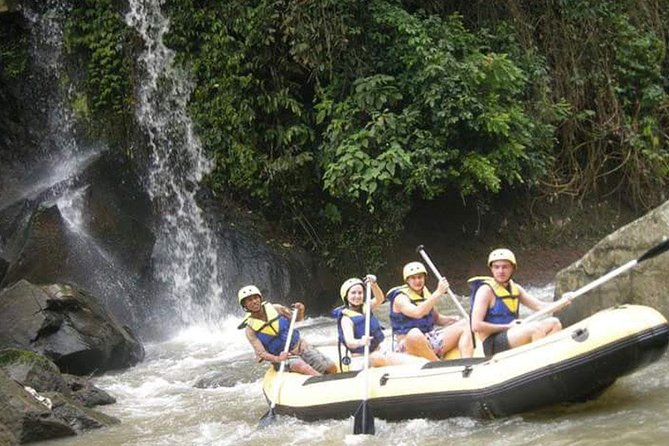 Melangit River Rafting and Besakih Temple, Kintamani, Waterfall Tour