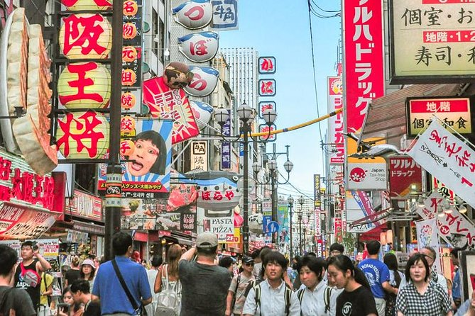 Private Tour - The Best Eating Tour to Explore the Real Deal in Dotonbori!