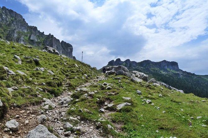 Carpathians in Romania: Bucegi Natural Park with native Spanish guide.