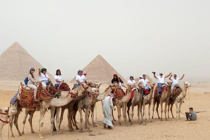 Best Day Tour to the Pyramids of Giza, Saqqara, Memphis from Cairo