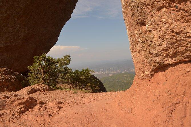Hiking In Montserrat,near Barcelona