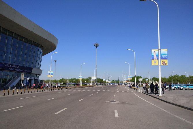 Shared Shuttle Bus Transfer Between Tianjin Cruise Port And Downtown Beijing