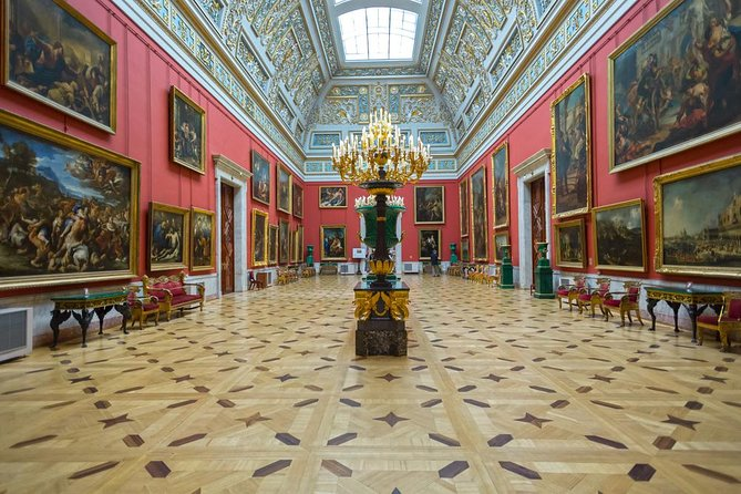 Half-Day St Petersburg PRIVATE City tour and Hermitage museum Skip-the-line