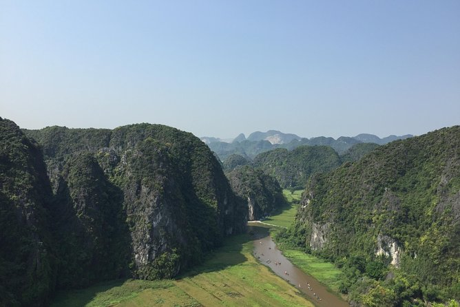 Ninh Binh-mountain, water and rice fields