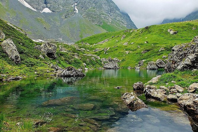 Chaukhi mountain & Abudelauri lakes photo 3