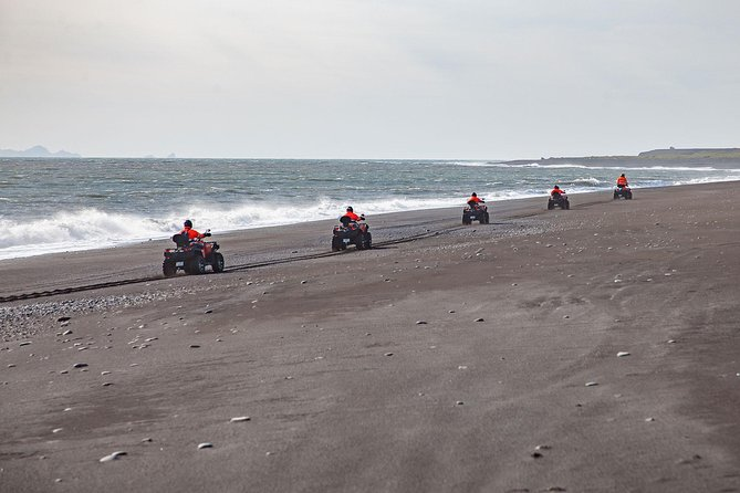 Quad Bike Tour on Black Lava Sands from Mýrdalur