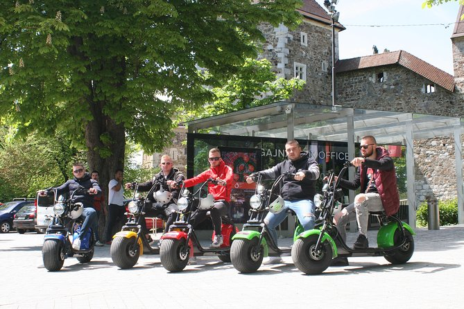 ELECTRIC HARLEY SCOOTER GUIDED TOUR - Ljubljana