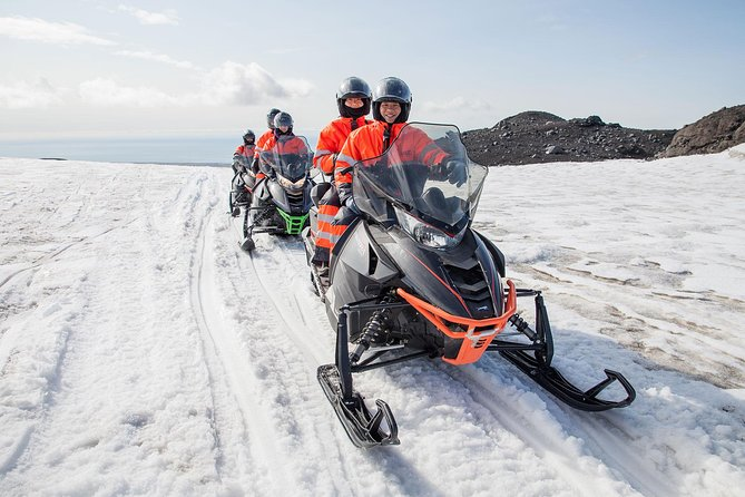 Snowmobiling Experience on Mýrdalsjökull Glacier from Vik
