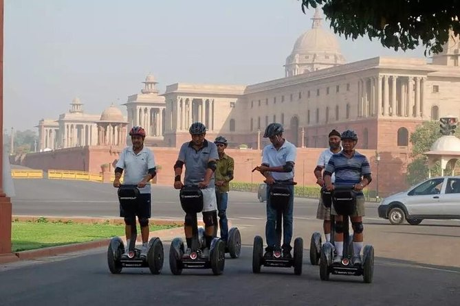 Segway Tour at Rajpath, Delhi - High Quality Segways