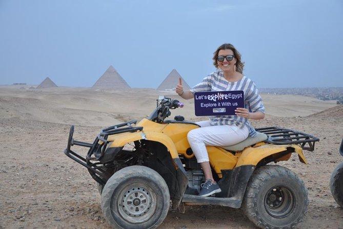 Best adventure around Giza Pyramids ,2hrs Camel Ride, Quad Bike and Tuk Tuk tour