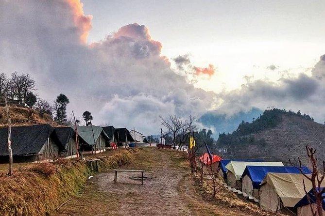 Kanatal Camping Around Oak Trees, Uttarakhand