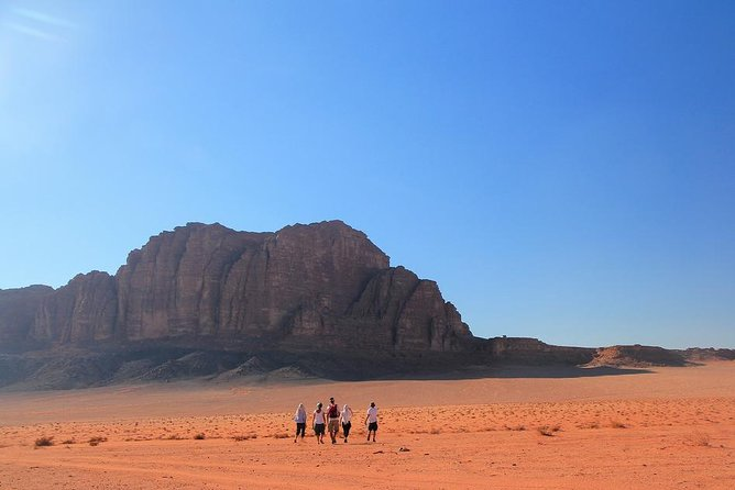 Wadi Rum Day Tour from Petra ending in Aqaba