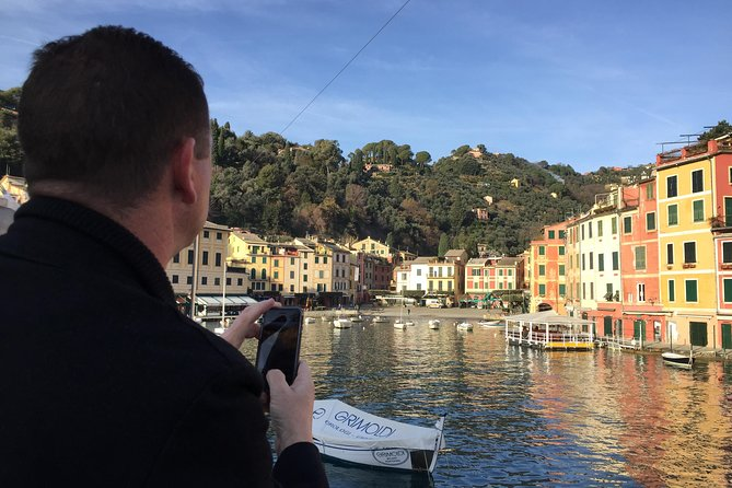 Portofino Boat and Walking Tour with Pesto Cooking & Lunch