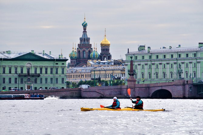 Kayak Tour on the Neva River, in the Heart of St. Petersburg