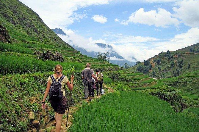 2-Days Overnight Sapa Trekking Tour by Bus from Hanoi