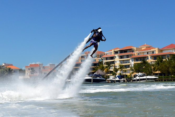 Super Cancun Adrenaline Pack = Jetpack and Flyboard 2 X 1 pay one and do both