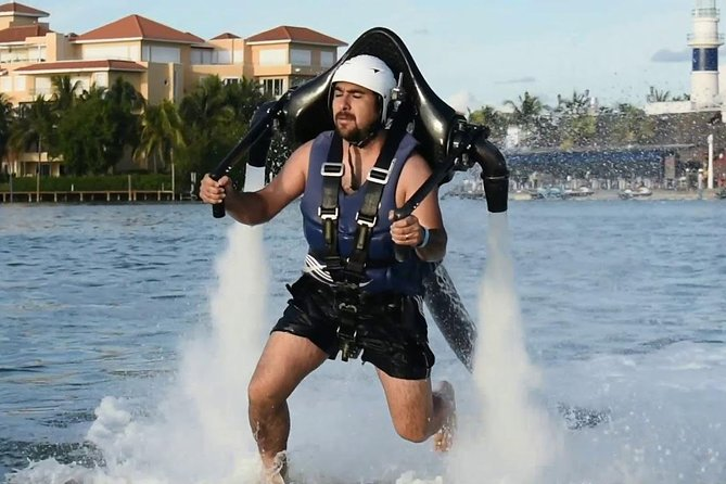 Jetpack in Cancun, the top adrenaline activity in Mexico an adventure lifetime photo 2