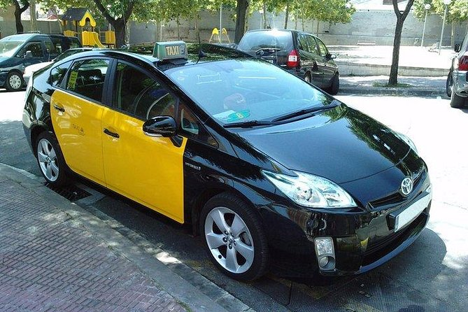 Barcelona airport to City private Cab transfer