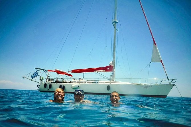 Day Cruise by a Sailing Yacht to the most beautiful bays or Rhodes (Small Group)