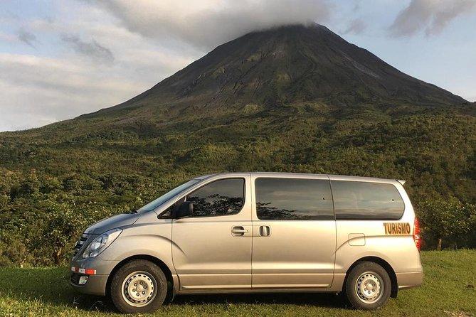 Transfer Arenal Volcano to San Jose International Airport