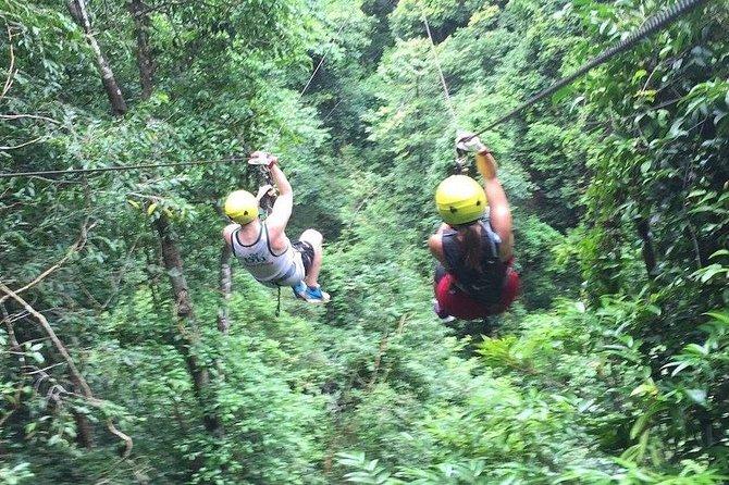 Zip Line Adventure in Koh Samui, Thailand