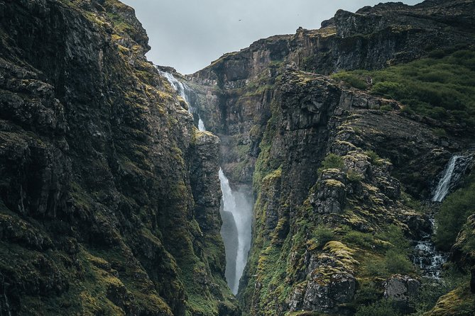 Glymur waterfall hike & geothermal bakery & Krauma bath
