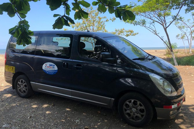 private shuttle from playa jaco