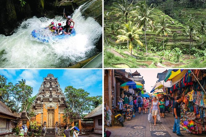 Melangit White Water Rafting and Ubud Tour