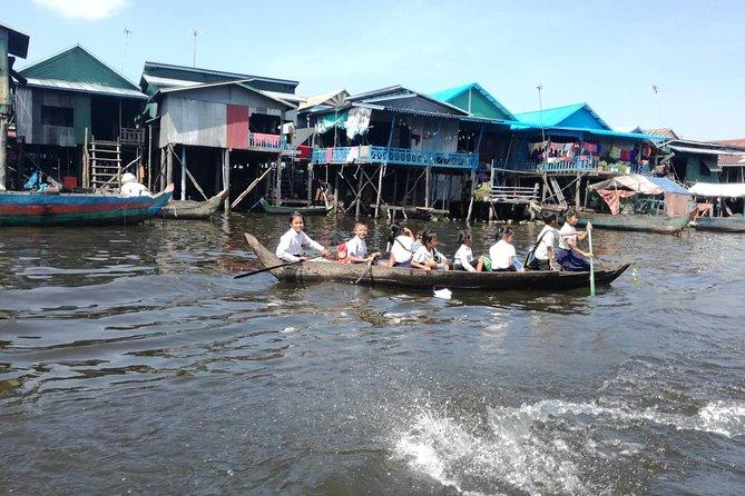 Kompong Kleang Tour - floating Village on the Tonle Sap Lake