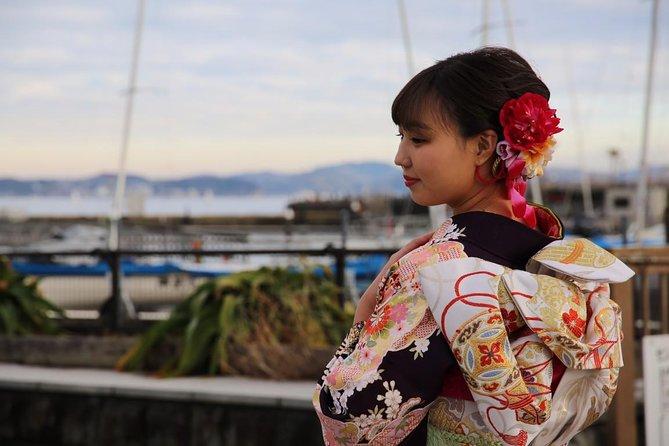 Rental Kimono Plan Including Accessories and Hair Arrangement