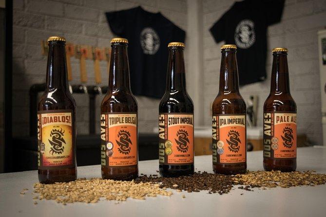 Håndverk øl: Dos Aves bryggeri tur