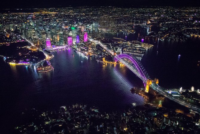 Fly by Night: Sydney Harbour Helicopter Tour