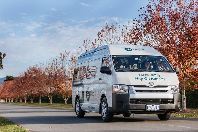 GREEN ROUTE Hop On Hop Off Yarra Valley Tour City and Lilydale Pickup and Return