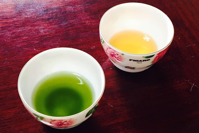 Authentic Japanese Tea Tasting at a Tea Plantation